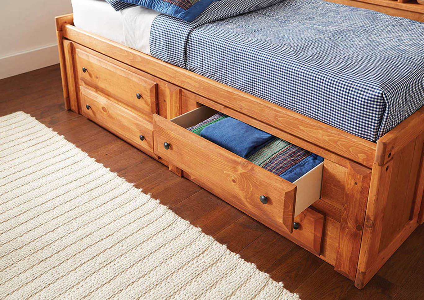 Russet Twin Storage Daybed,Coaster Furniture