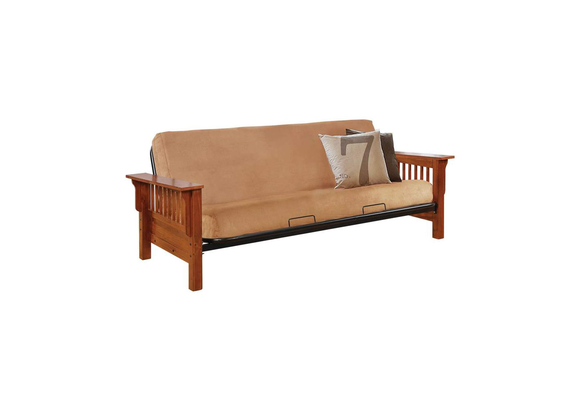 Oak Mission Futon Frame,Coaster Furniture