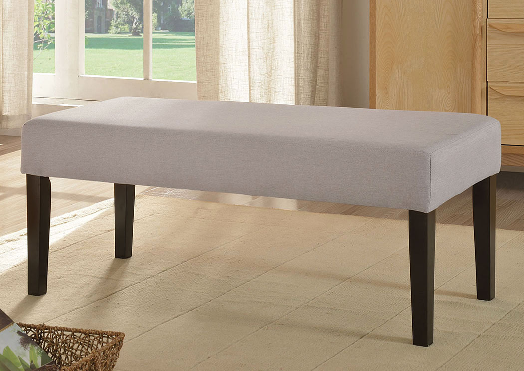 Grey Upholstered Bench,ABF Coaster Furniture