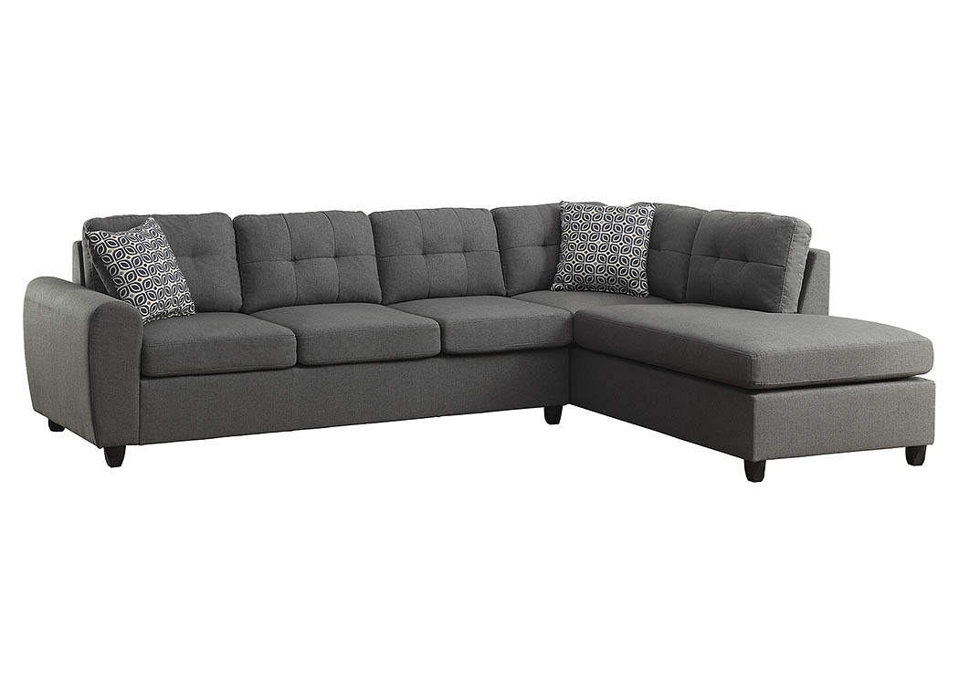 Grey Sectional,ABF Coaster Furniture