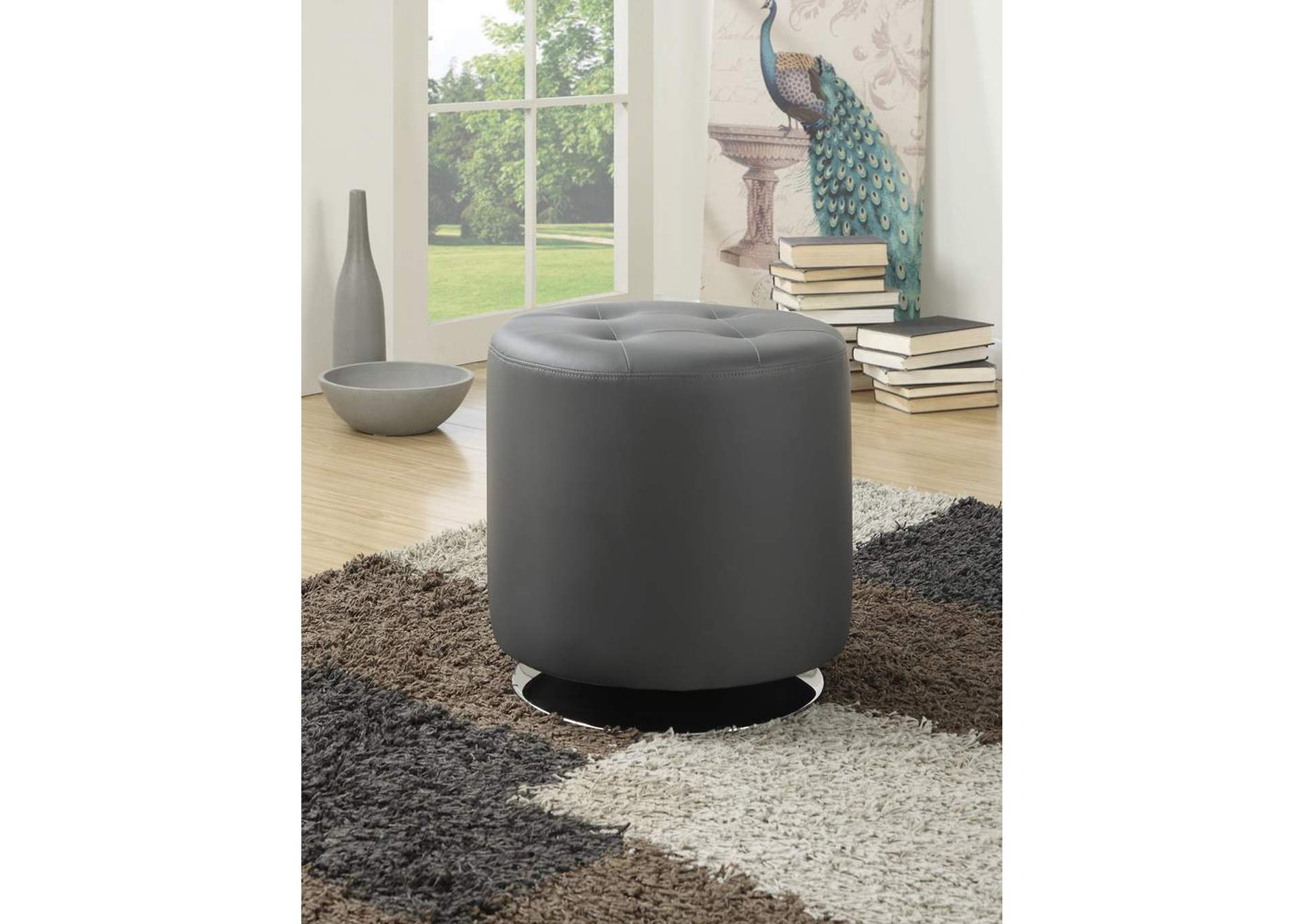 Grey Ottoman,Coaster Furniture