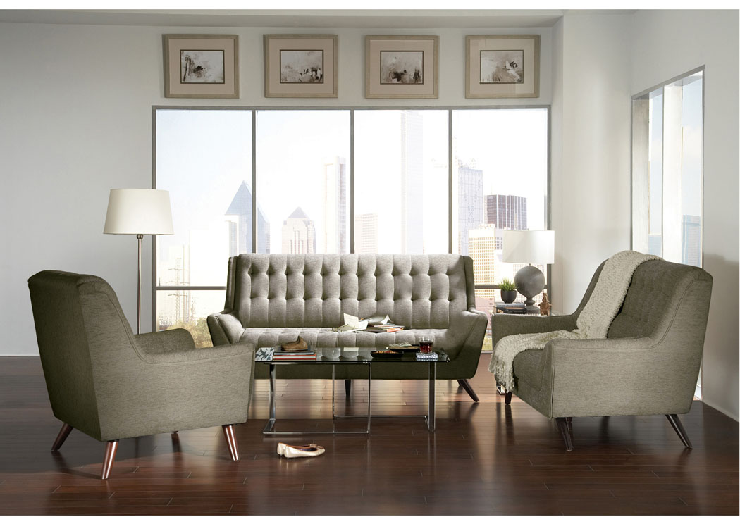 Grey Sofa & Loveseat,Coaster Furniture