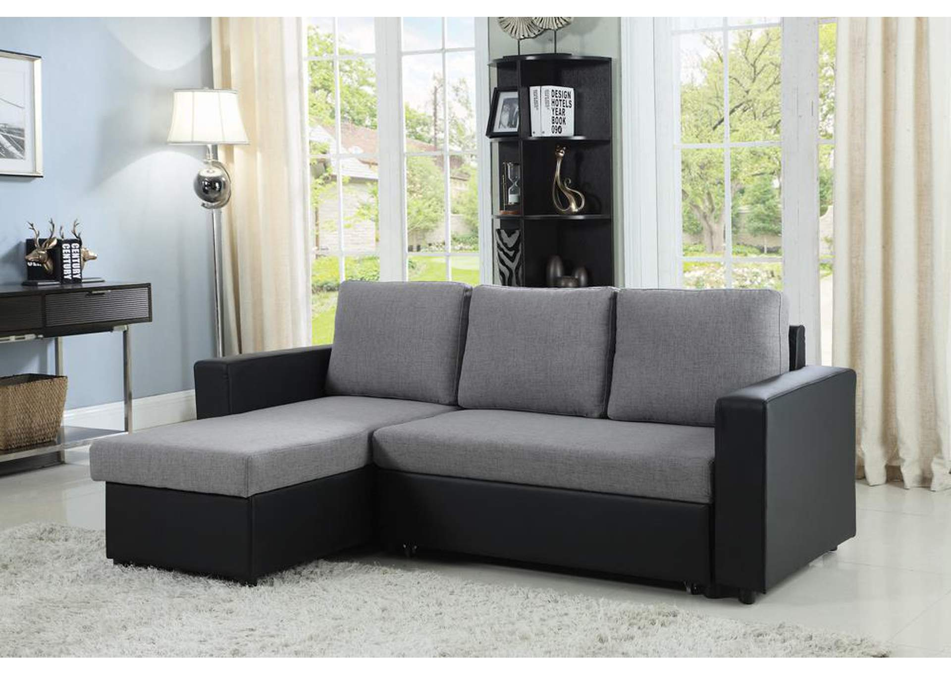 Baylor Grey Sofa,Coaster Furniture