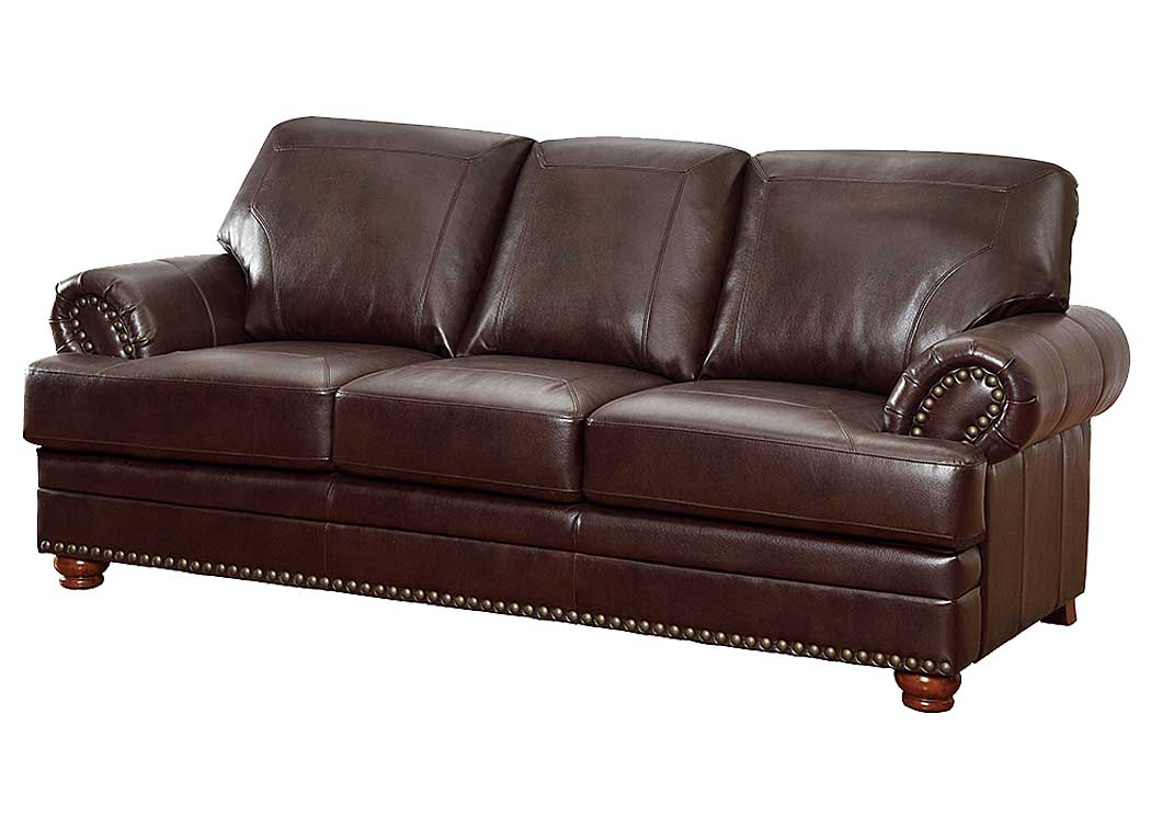 Colton Brown Sofa,Coaster Furniture