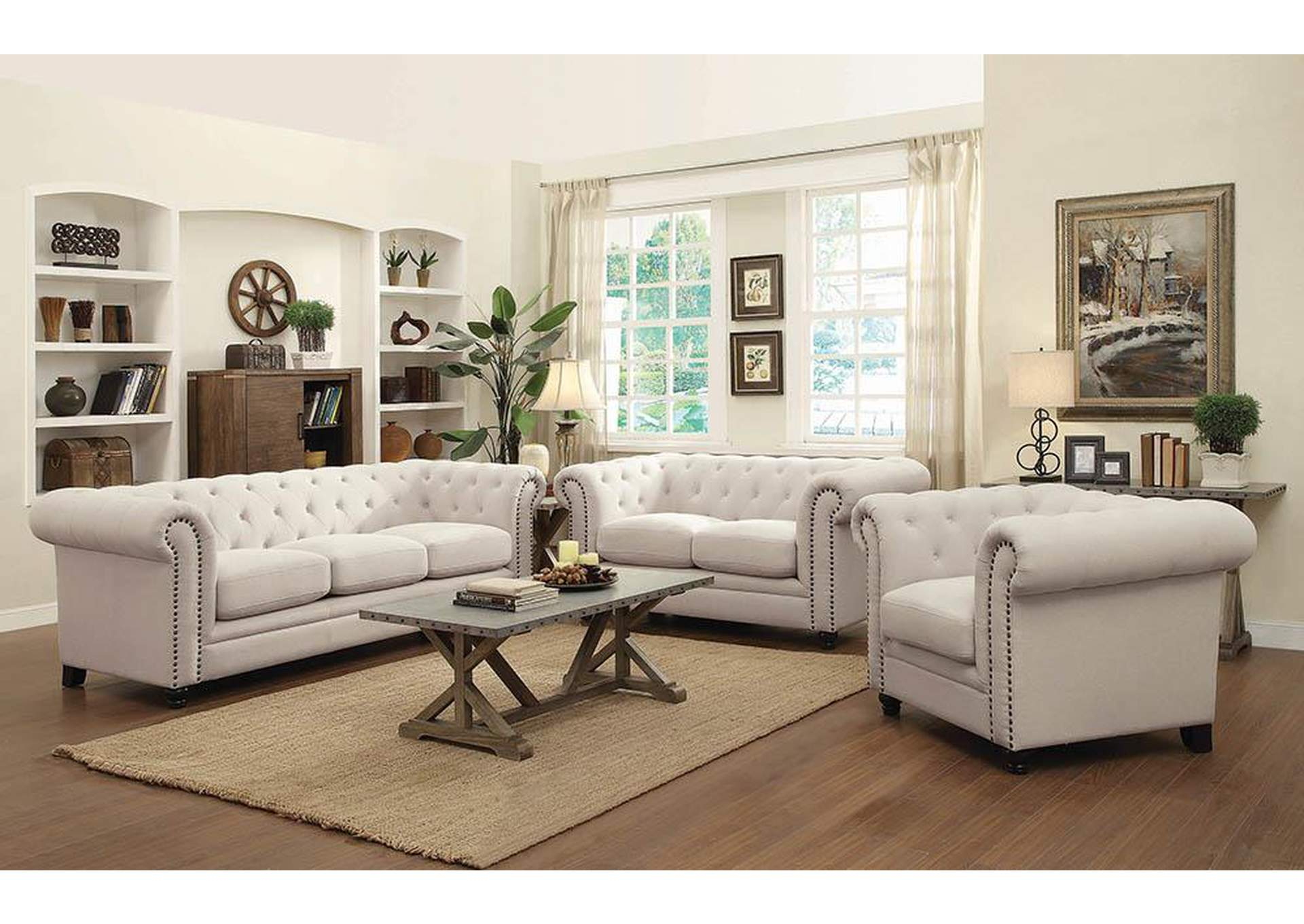 Best Buy Furniture And Mattress Cream Loveseat
