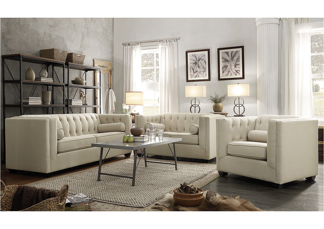 Cairns Sofa & Loveseat,Coaster Furniture
