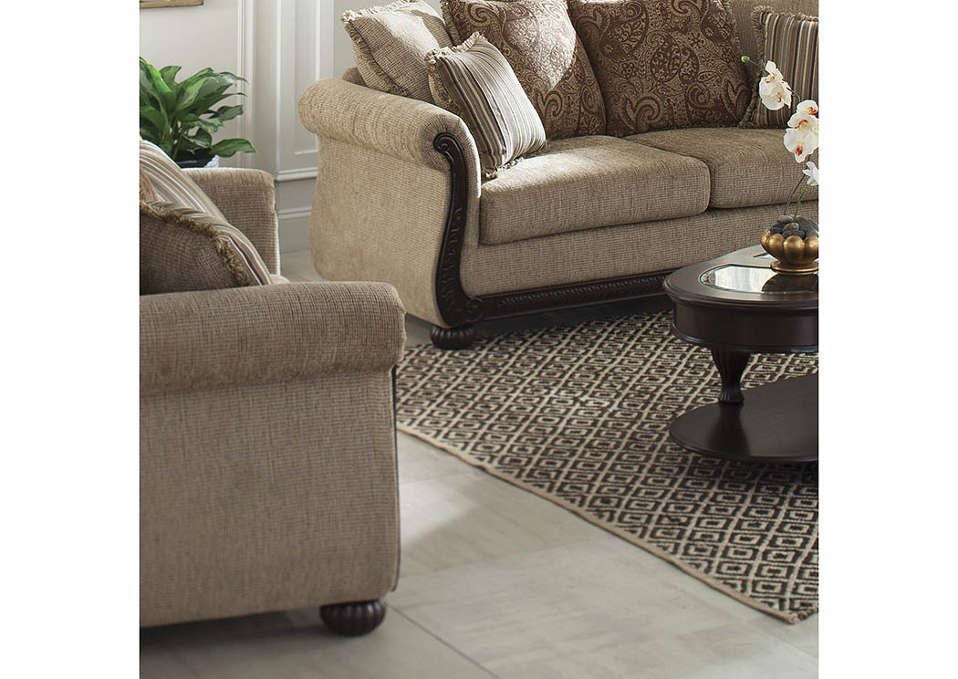 Beasley Brown Loveseat,Coaster Furniture