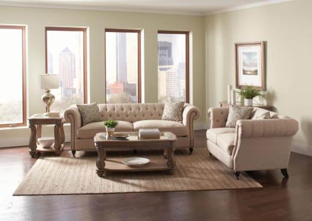Atlantic Bedding And Furniture Dark Brown Sofa Loveseat