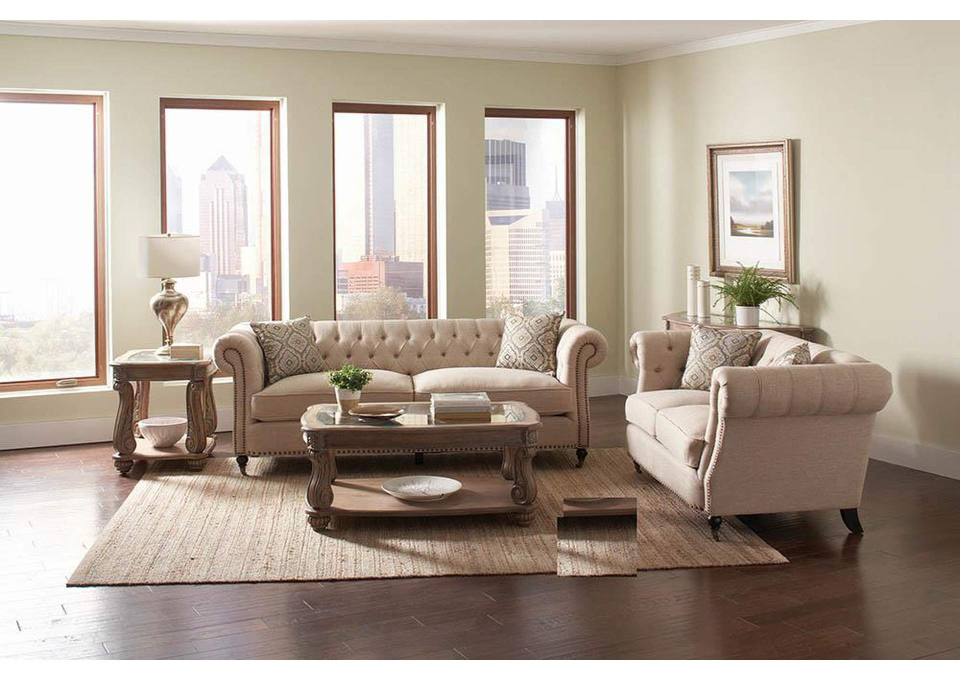 D&N Furniture - Scranton, PA Dark Brown Sofa