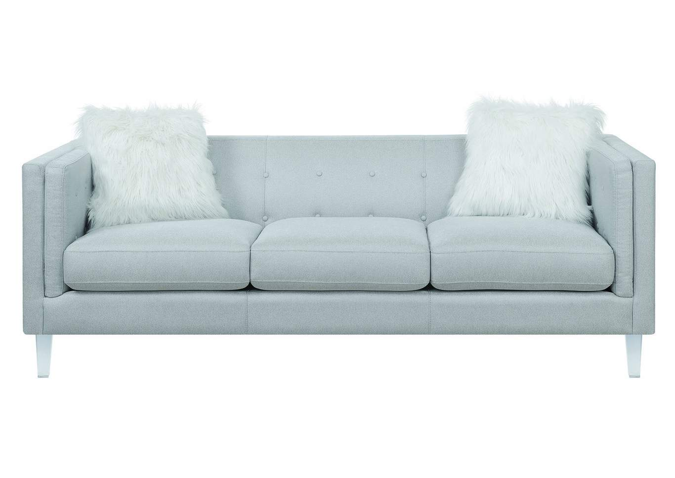 Hemet Light Grey Sofa,Coaster Furniture
