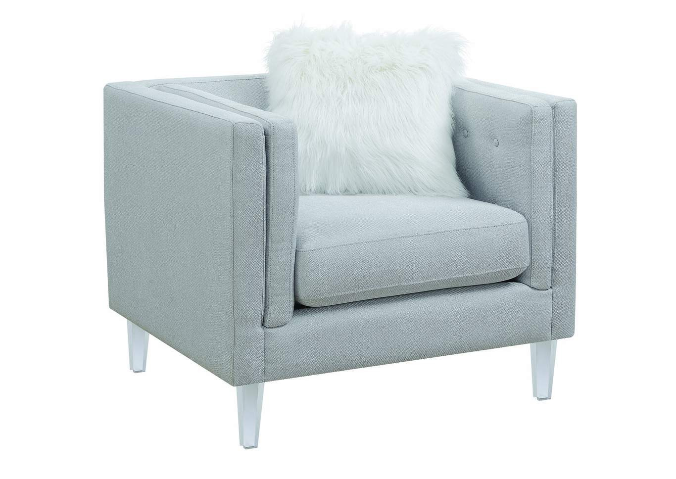 Light Gray Chair,Coaster Furniture