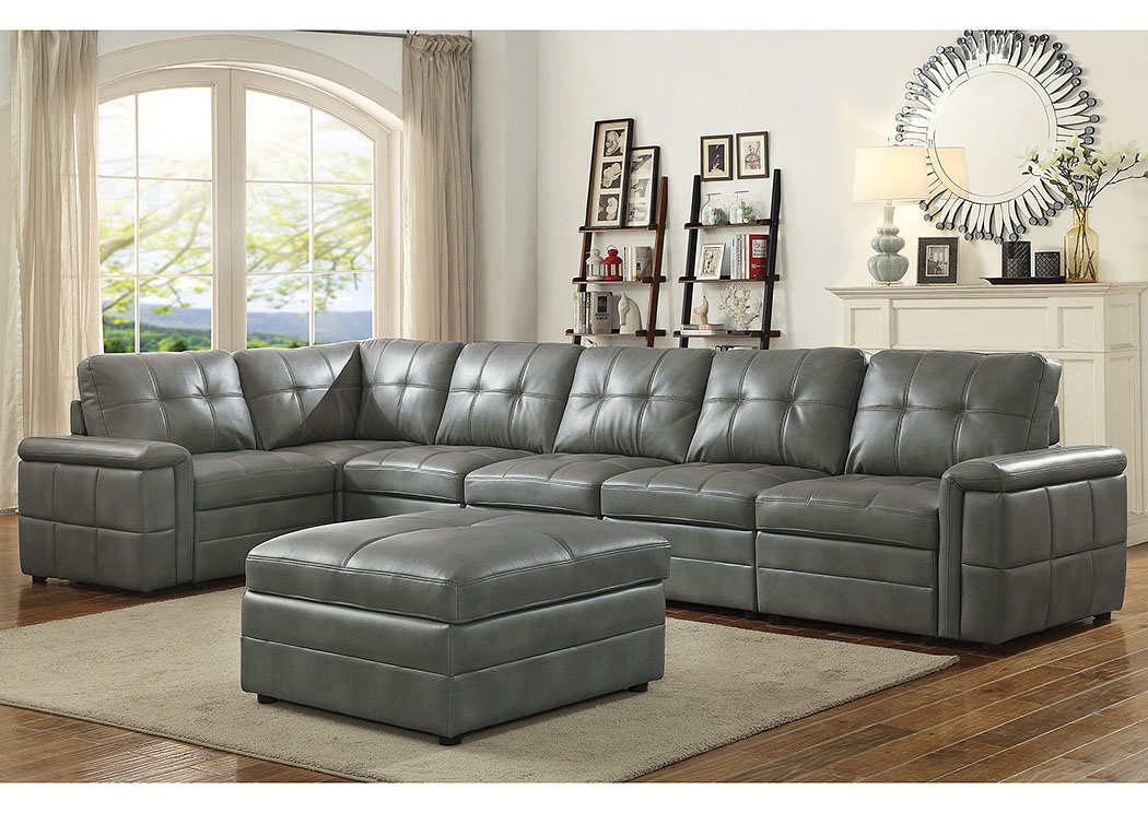 Grey Sectional,Coaster Furniture