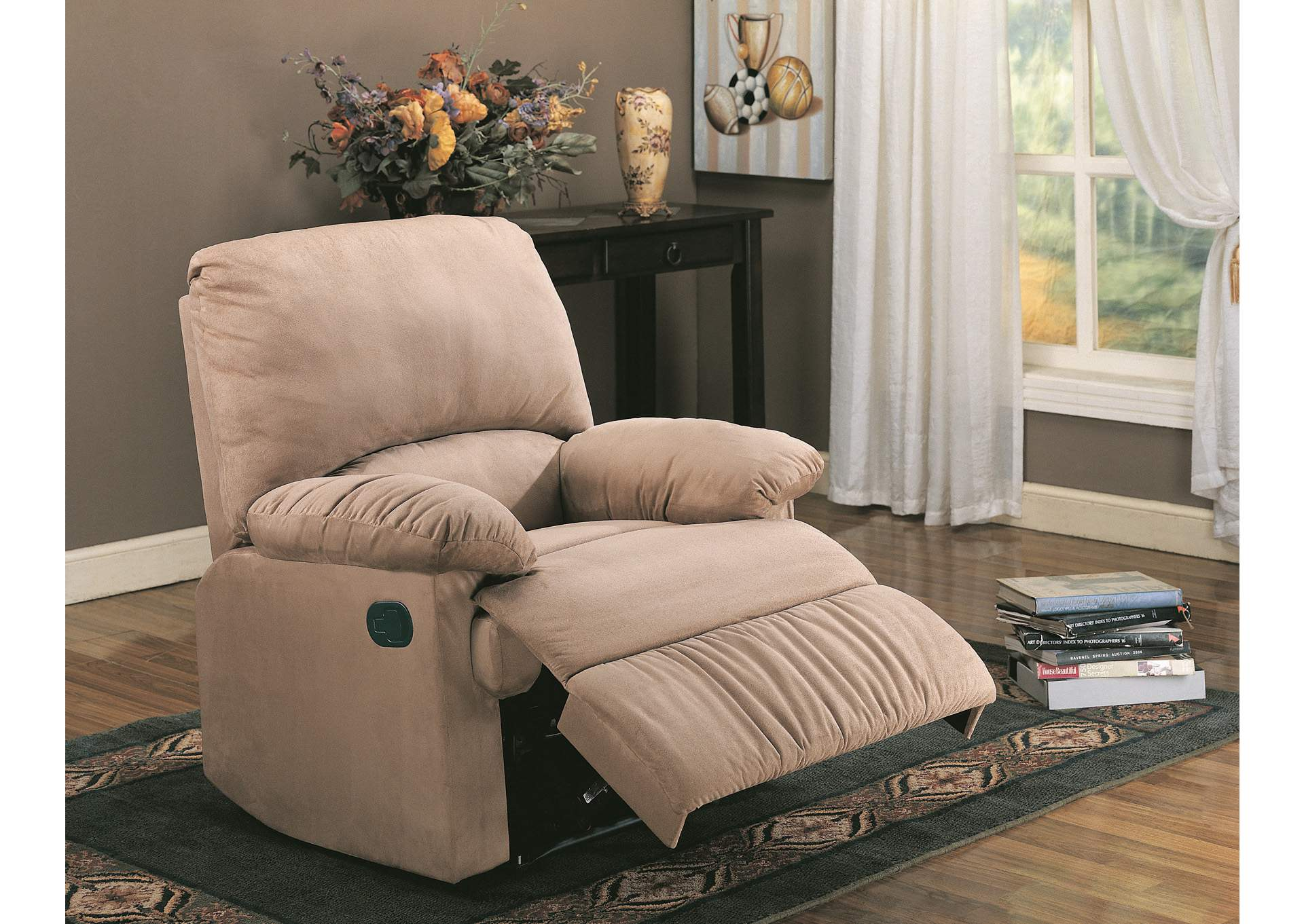 Brown Light Recliner,Coaster Furniture