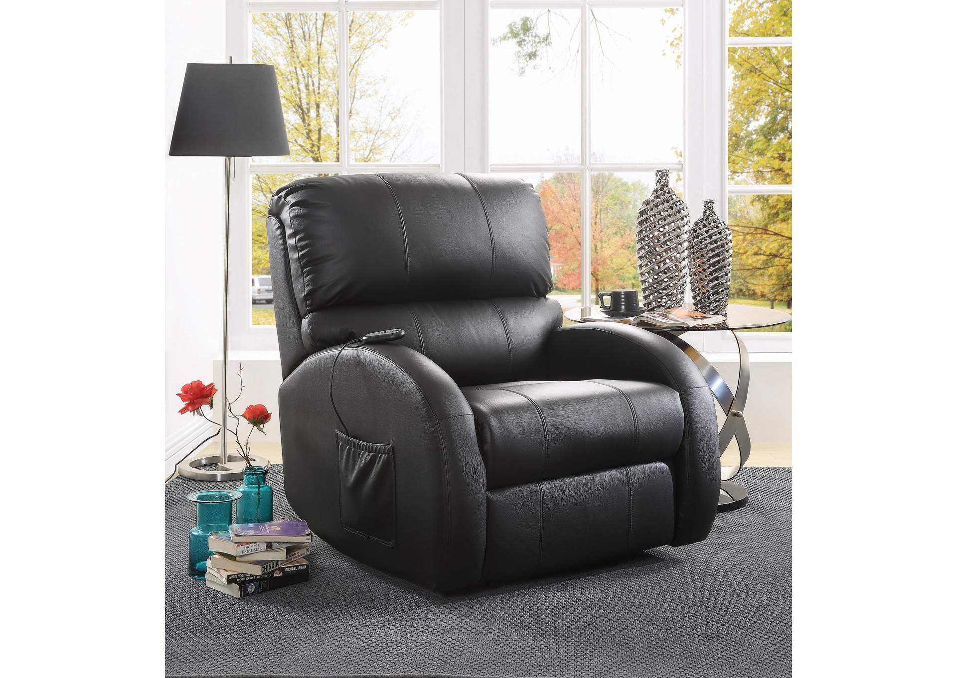 Black Power Lift Recliner,Coaster Furniture
