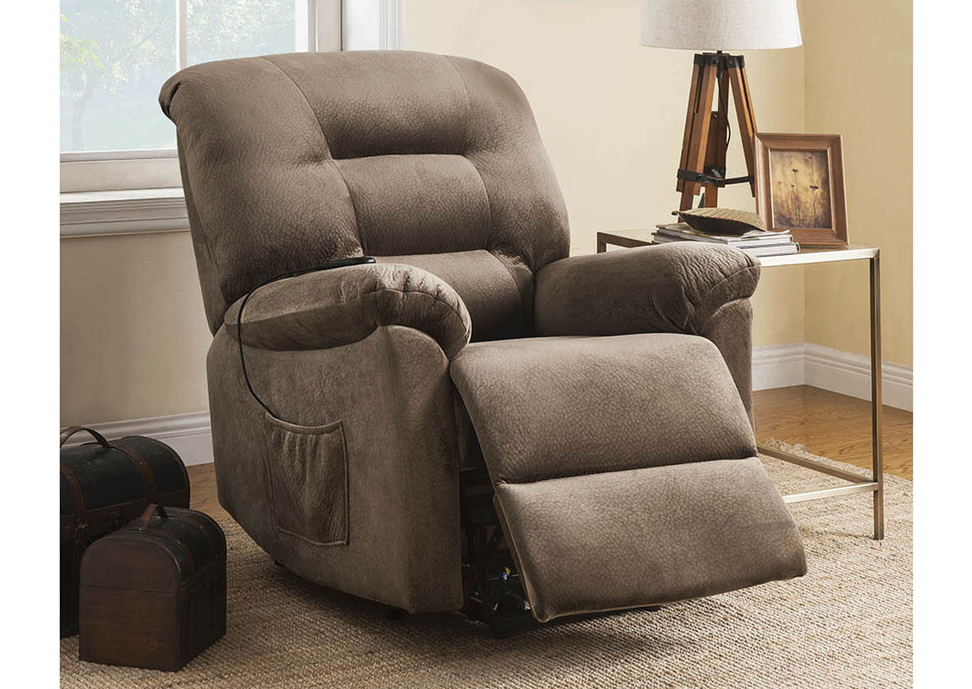 Brown Sugar Power Lift Recliner,Coaster Furniture