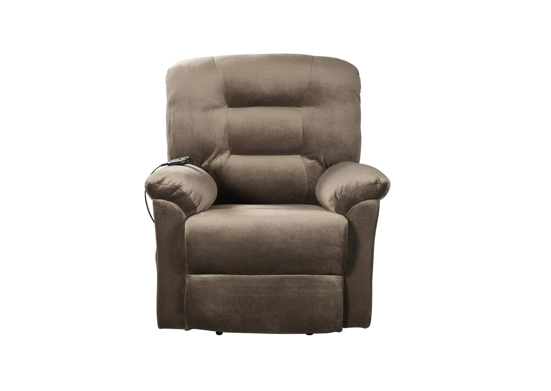 Taupe Casual Brown Sugar Power Lift Recliner,Coaster Furniture