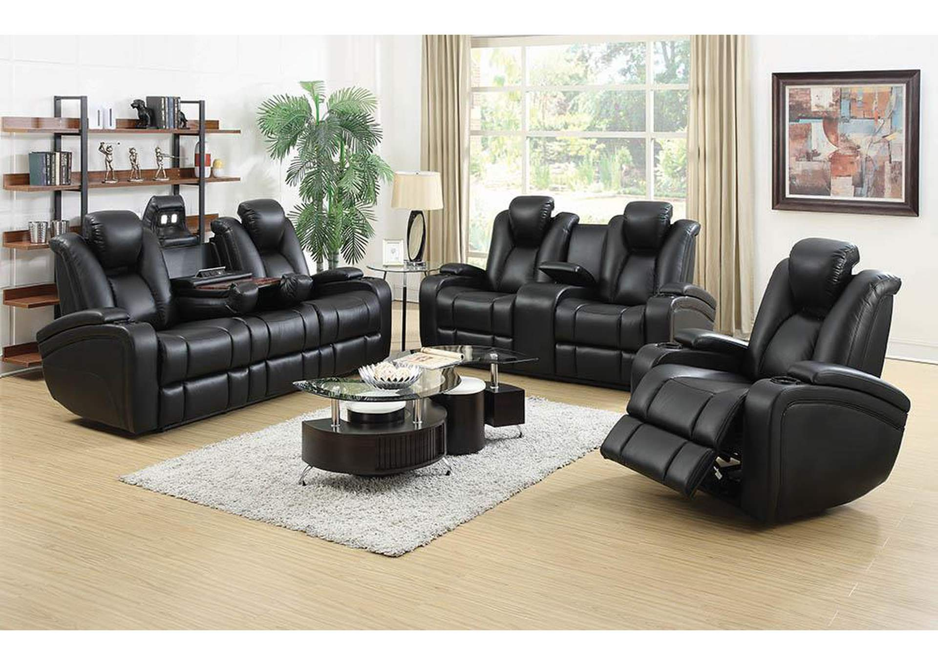 Delange Power Reclining Sofa,Coaster Furniture