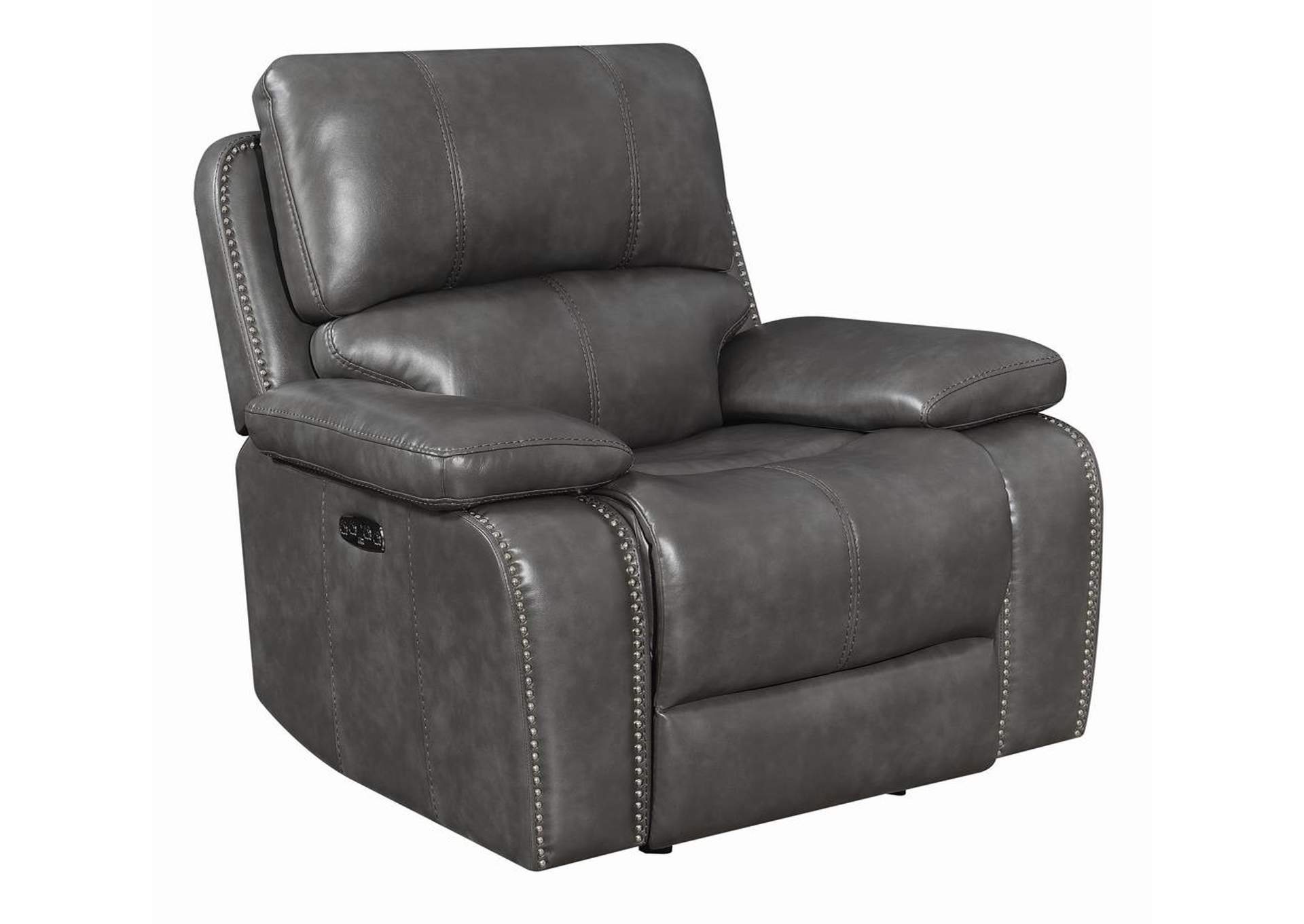 Ravenna Charcoal Reclining Glider Recliner,Coaster Furniture