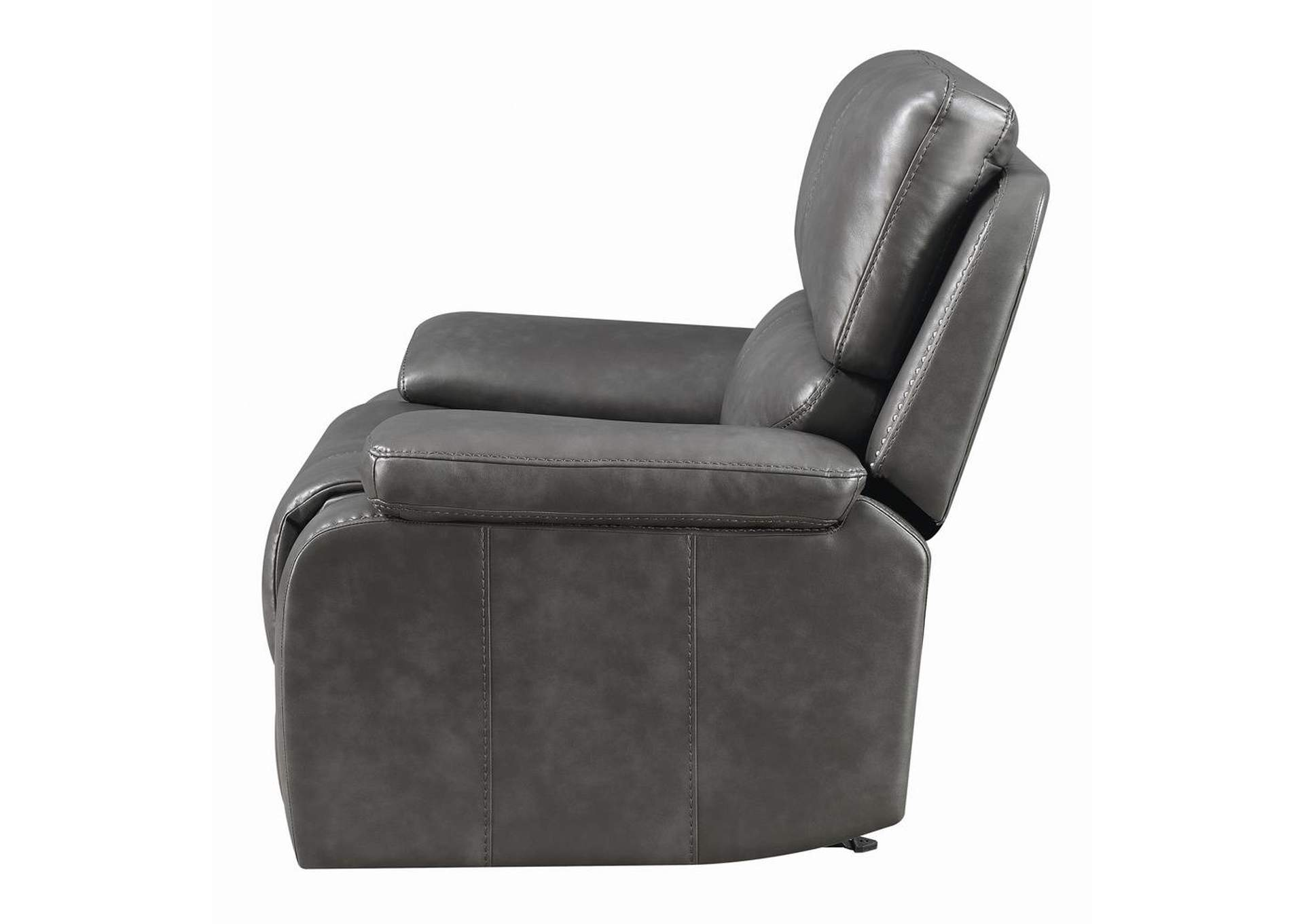 Ravenna Charcoal Power Glider Recliner,Coaster Furniture