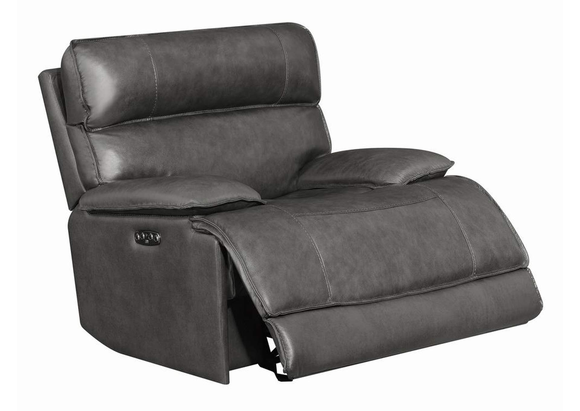 Stanford Charcoal Power Glider Recliner,Coaster Furniture