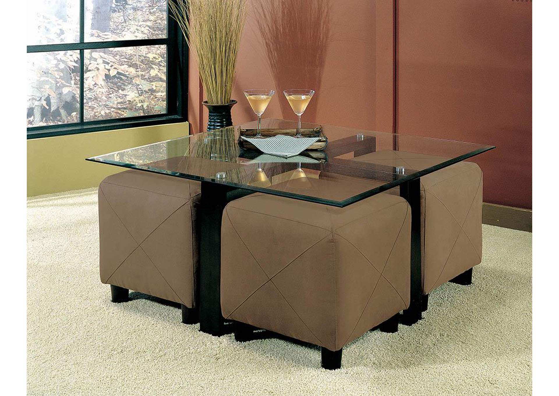 Coffee Table (Cubes Sold Separately),Coaster Furniture