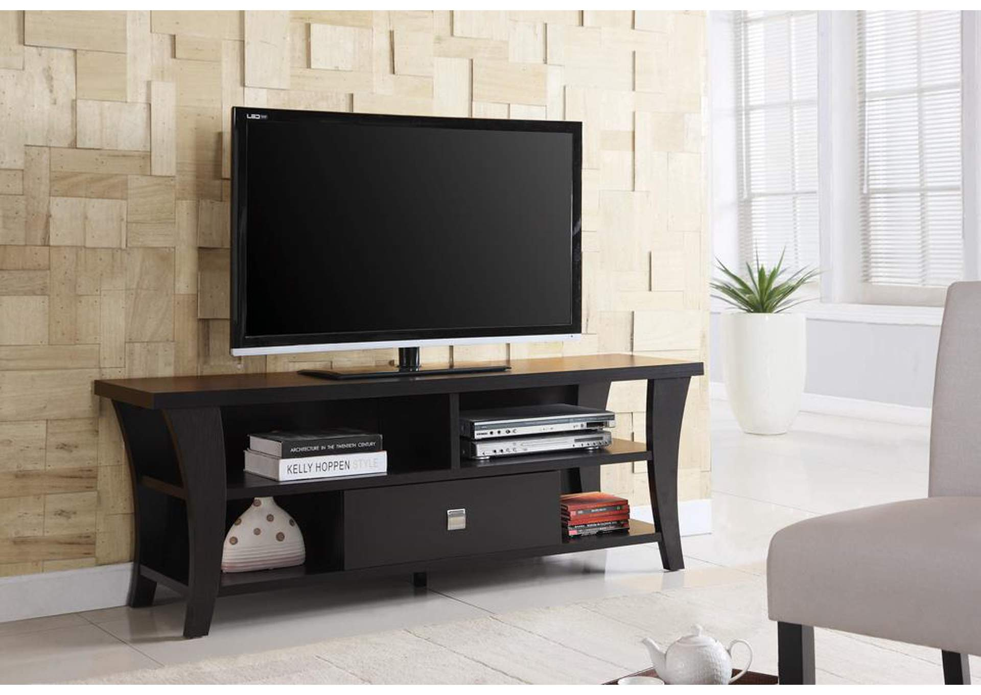 Cappuccino TV Console,ABF Coaster Furniture