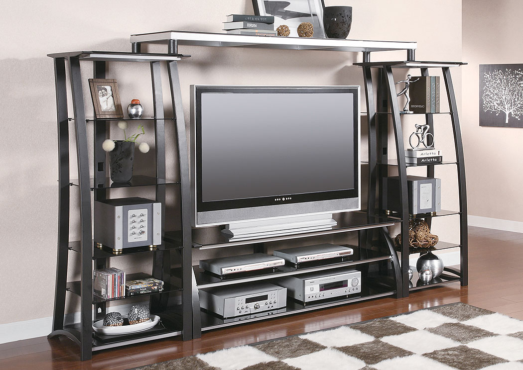 Metal Entertainment Center,Coaster Furniture