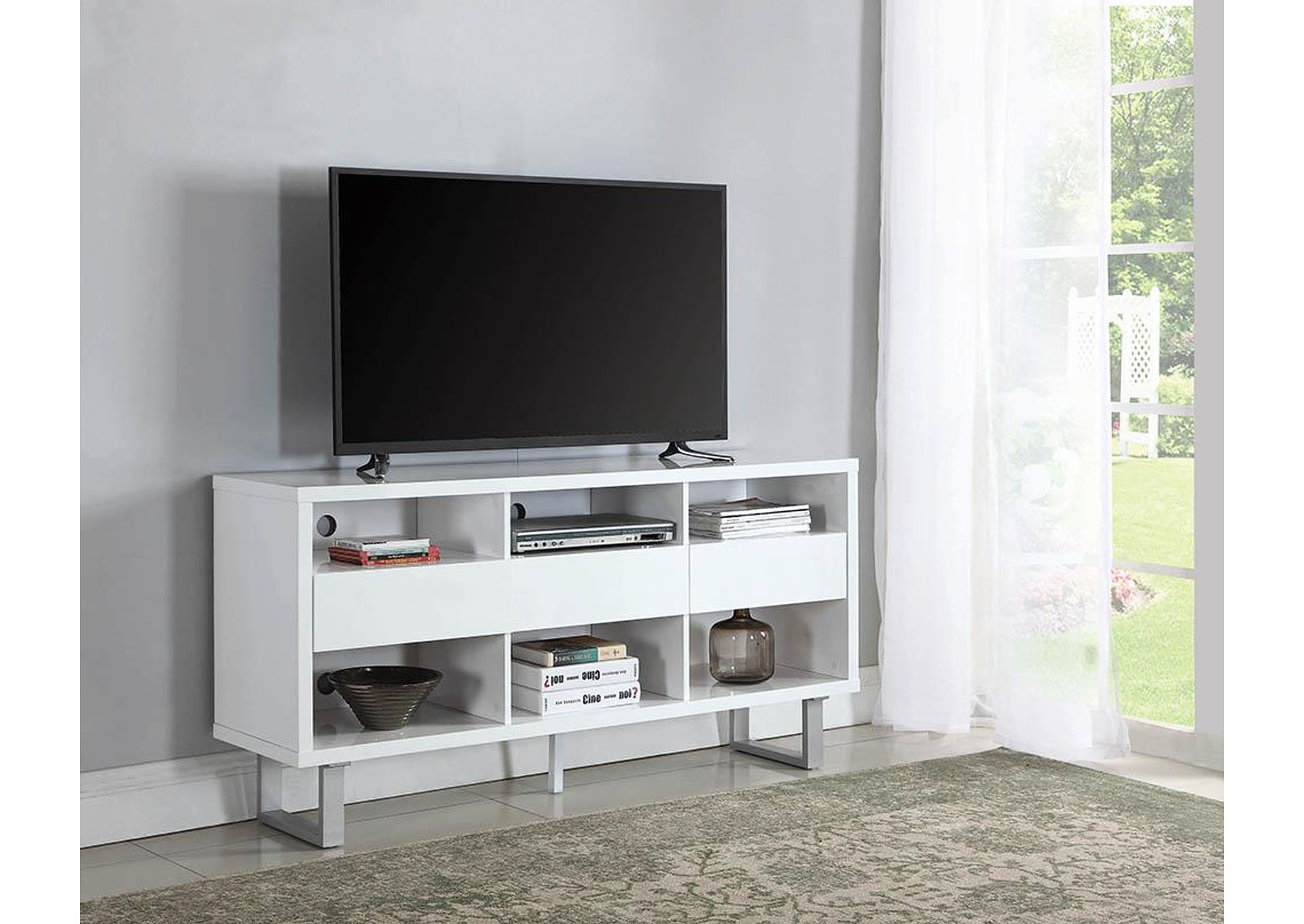 D N Furniture Scranton Pa High Glossy White Tv Stand