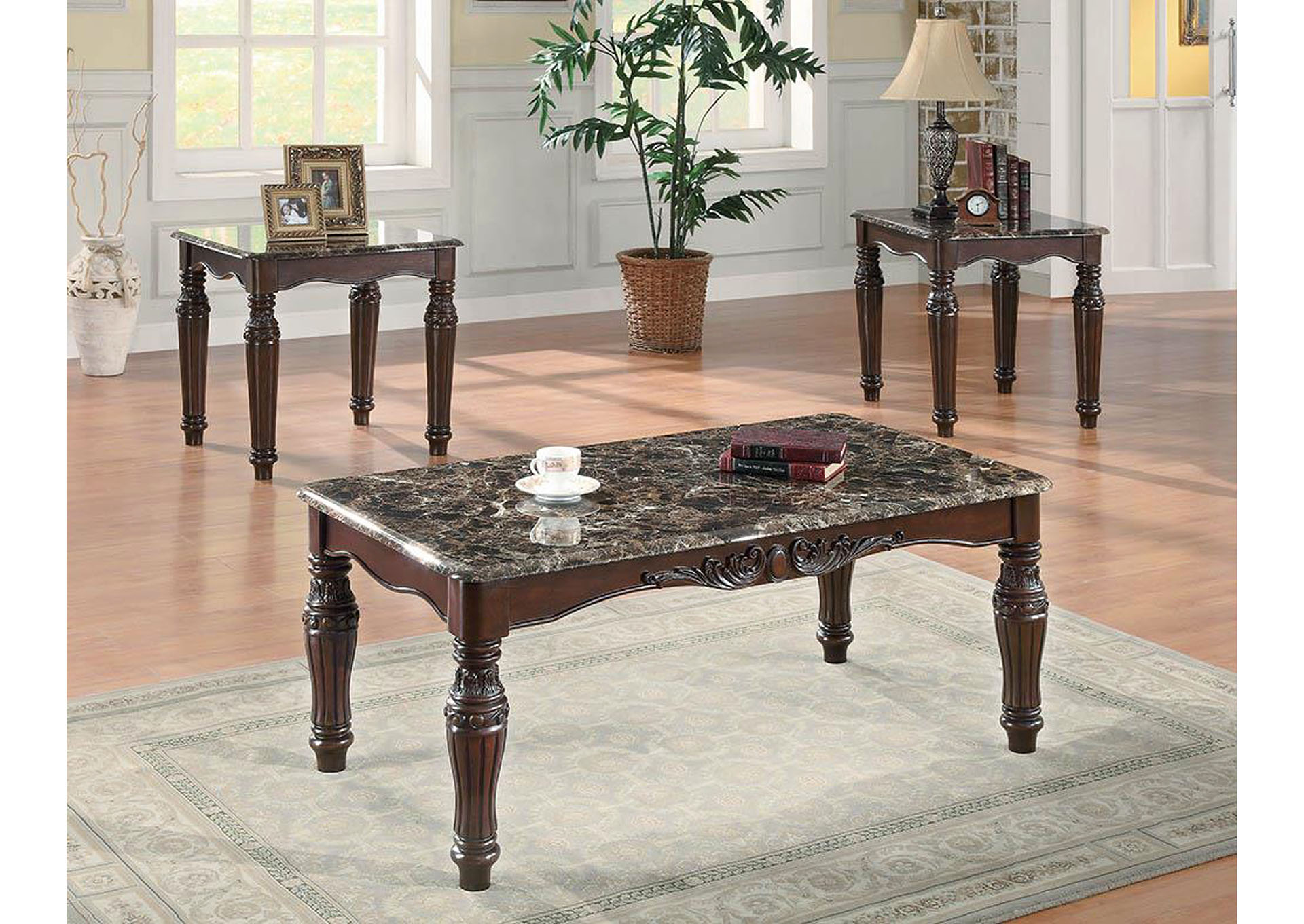 3 Piece Occasional Table Set,Coaster Furniture