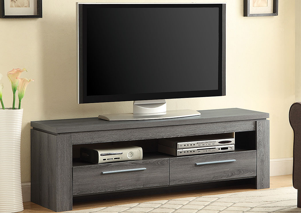newest be985 d26d7 Your Cost Furniture Dark Grey TV Console