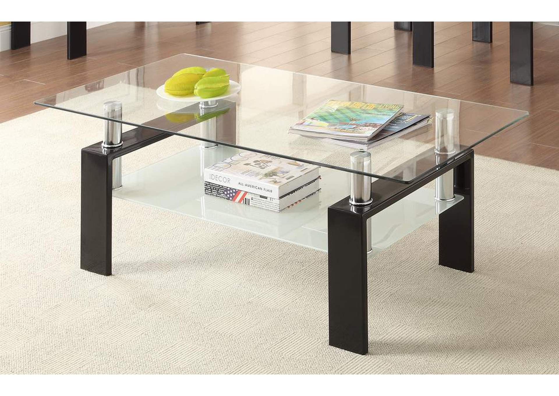Robinson Furniture Detroit Black Coffee Table - Detroit coffee table