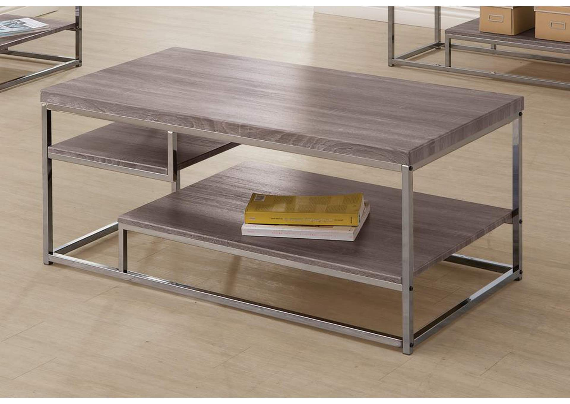 Dark Grey Coffee Table,Coaster Furniture