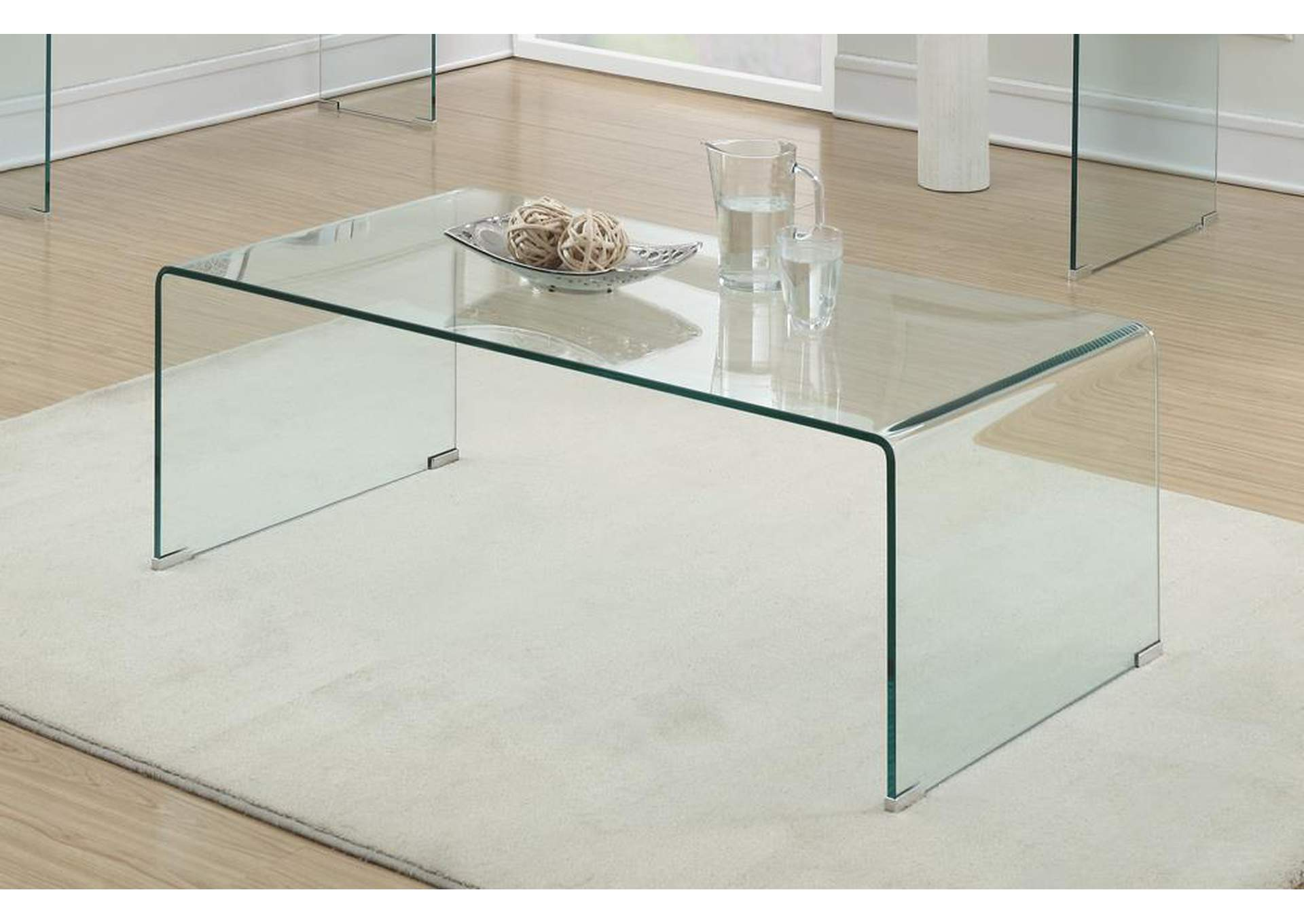 Southern Furniture Co Inc Clear Coffee Table