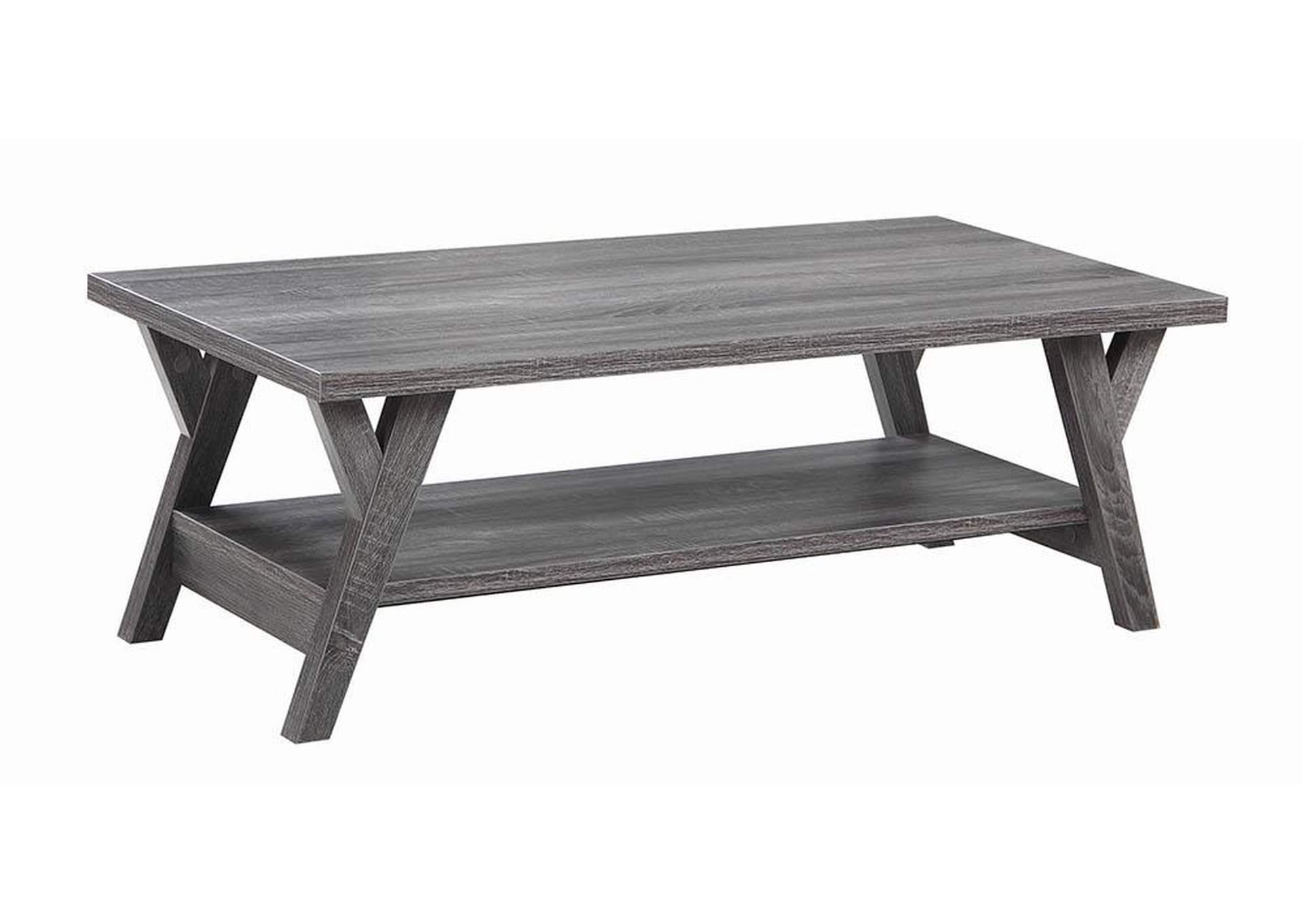 Brilliant Alberts Home Furnishings Distressed Grey Coffee Table Machost Co Dining Chair Design Ideas Machostcouk