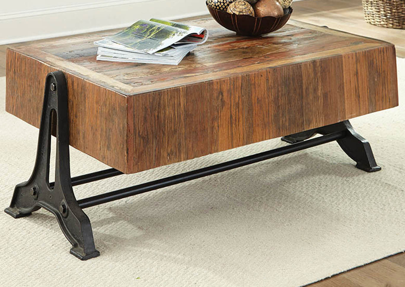 Natural Coffee Table,Coaster Furniture