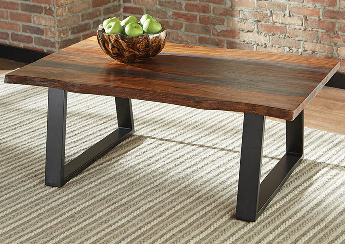 Grey Sheesham Coffee Table,Coaster Furniture