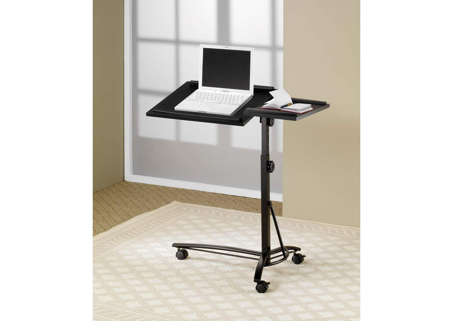 Black Laptop Stand,Coaster Furniture