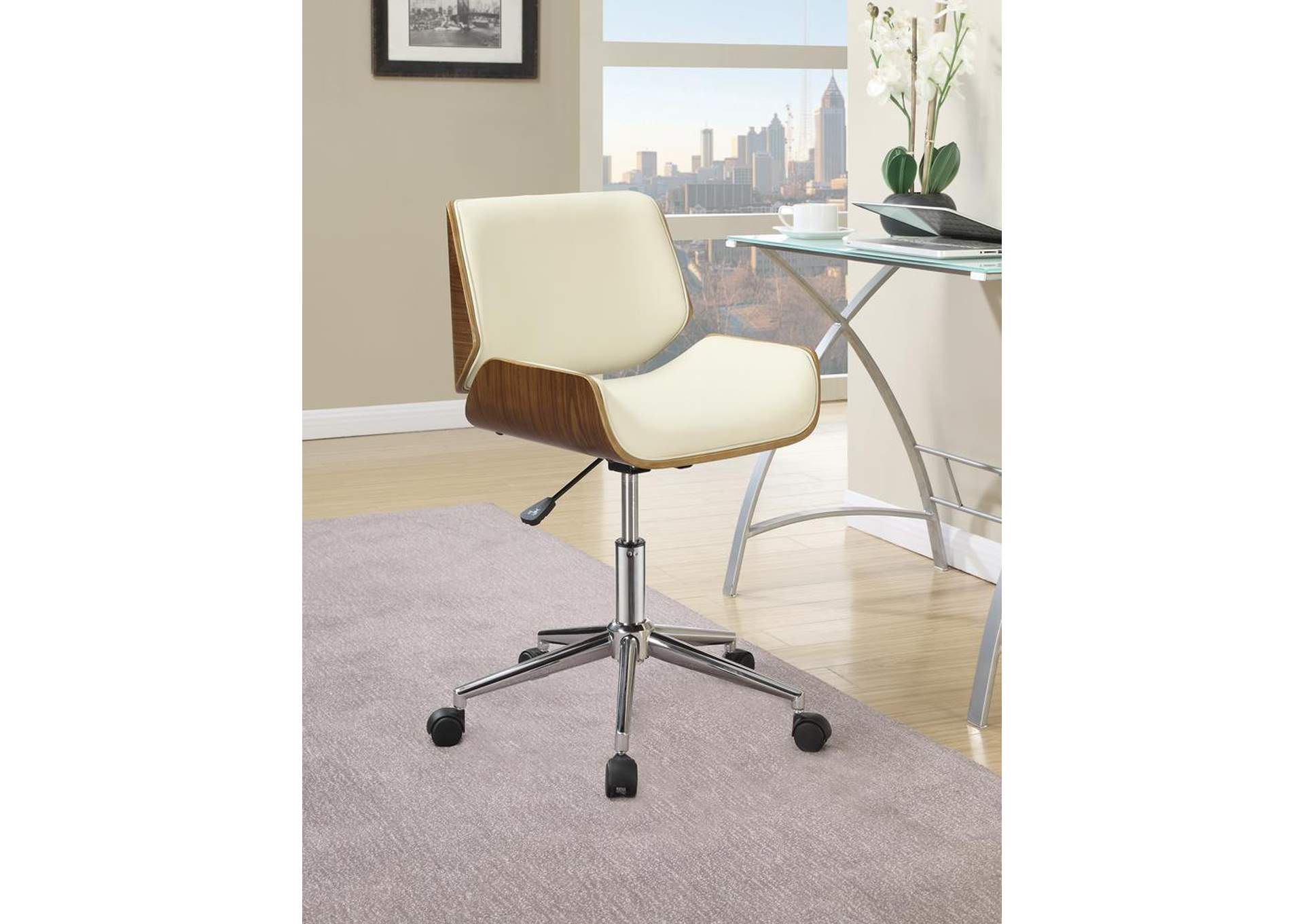Chrome Office Chair,Coaster Furniture