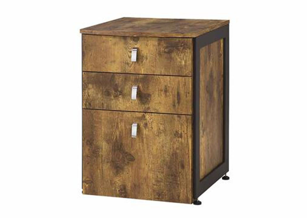 Oak Furniture Liquidators Antique Nutmeg File Cabinet