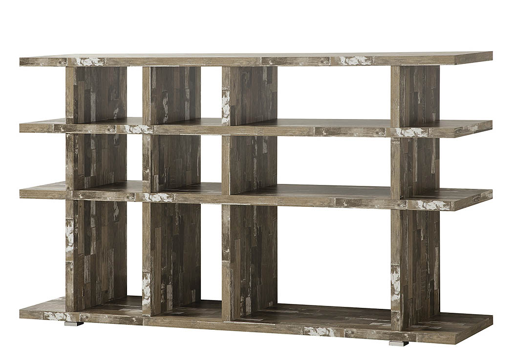 Salvaged Cabin Bookcase,Coaster Furniture