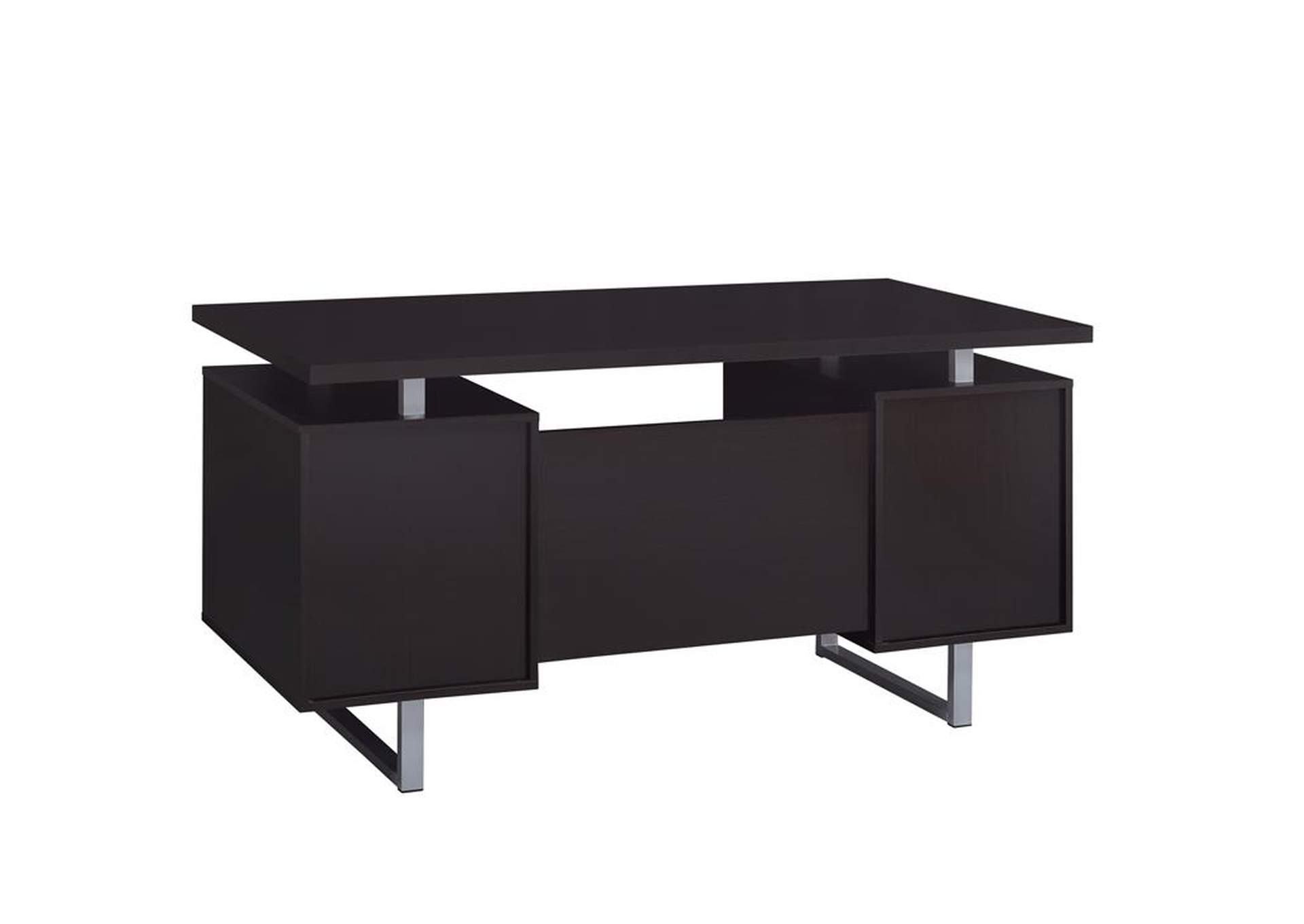 Glavan Cappuccino Office Desk,Coaster Furniture