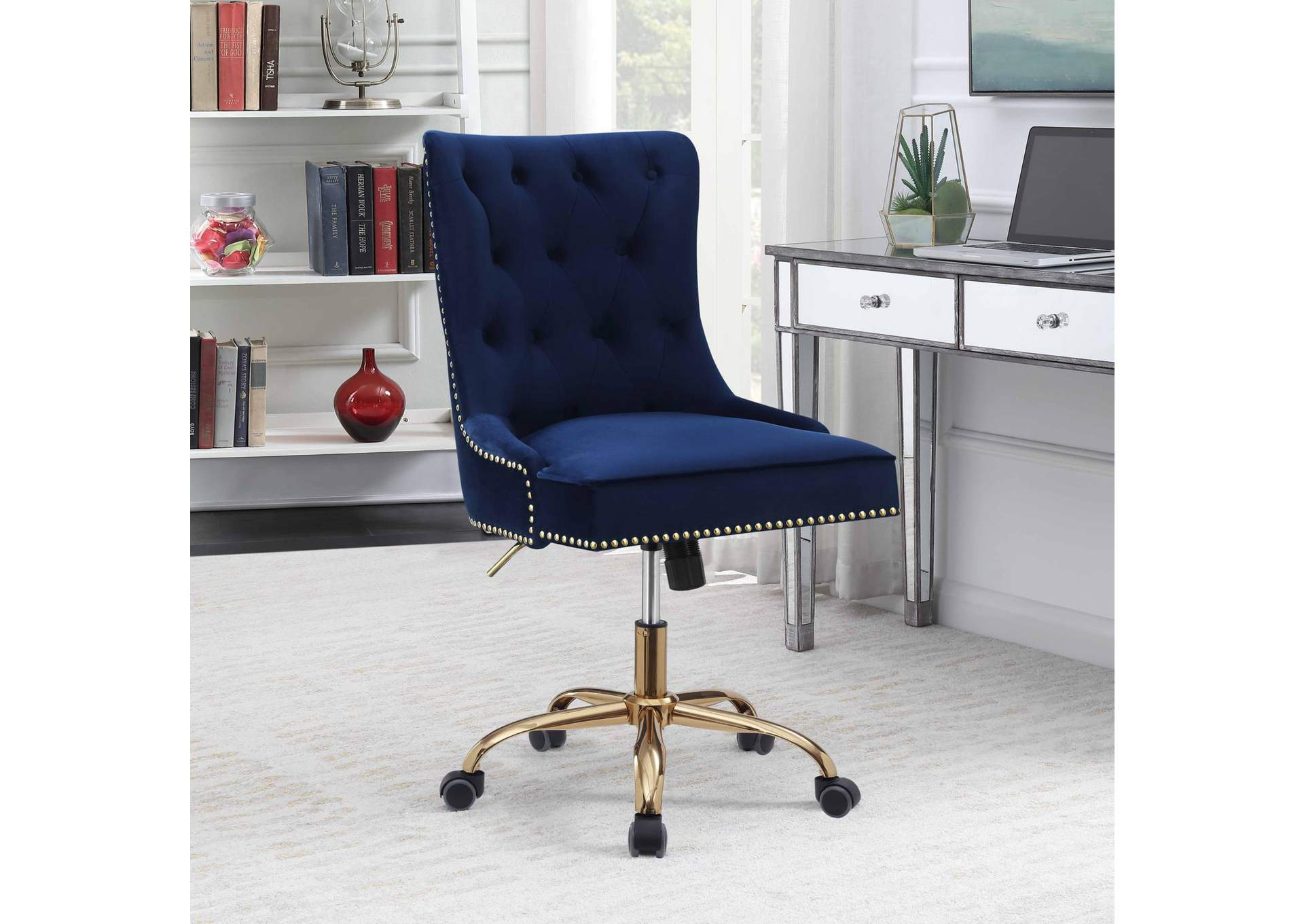 Blue Office Chair,Coaster Furniture