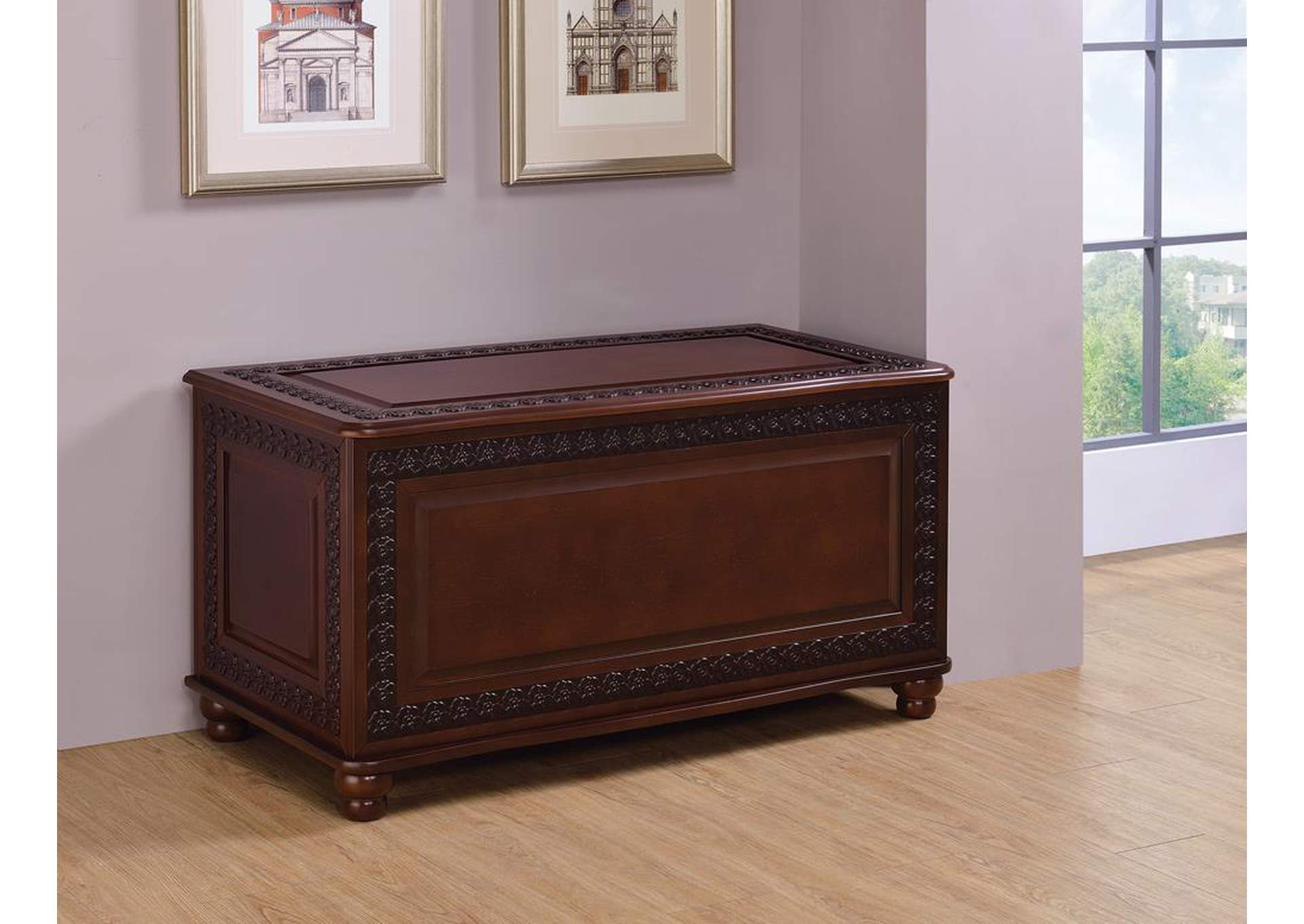 Dark Cherry Chest,Coaster Furniture