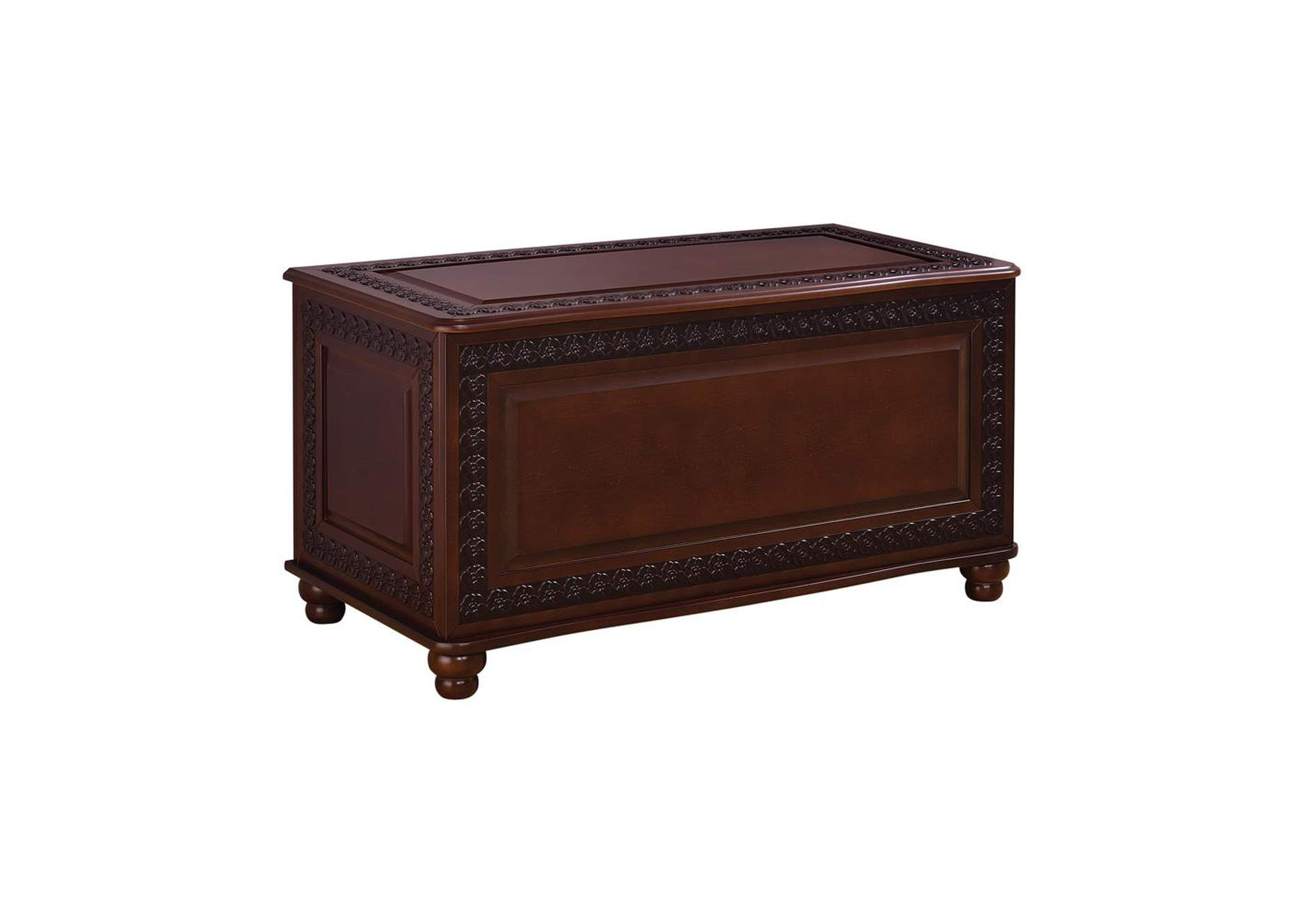 Deep Tobacco Traditional Deep Tobacco Cedar Chest,Coaster Furniture