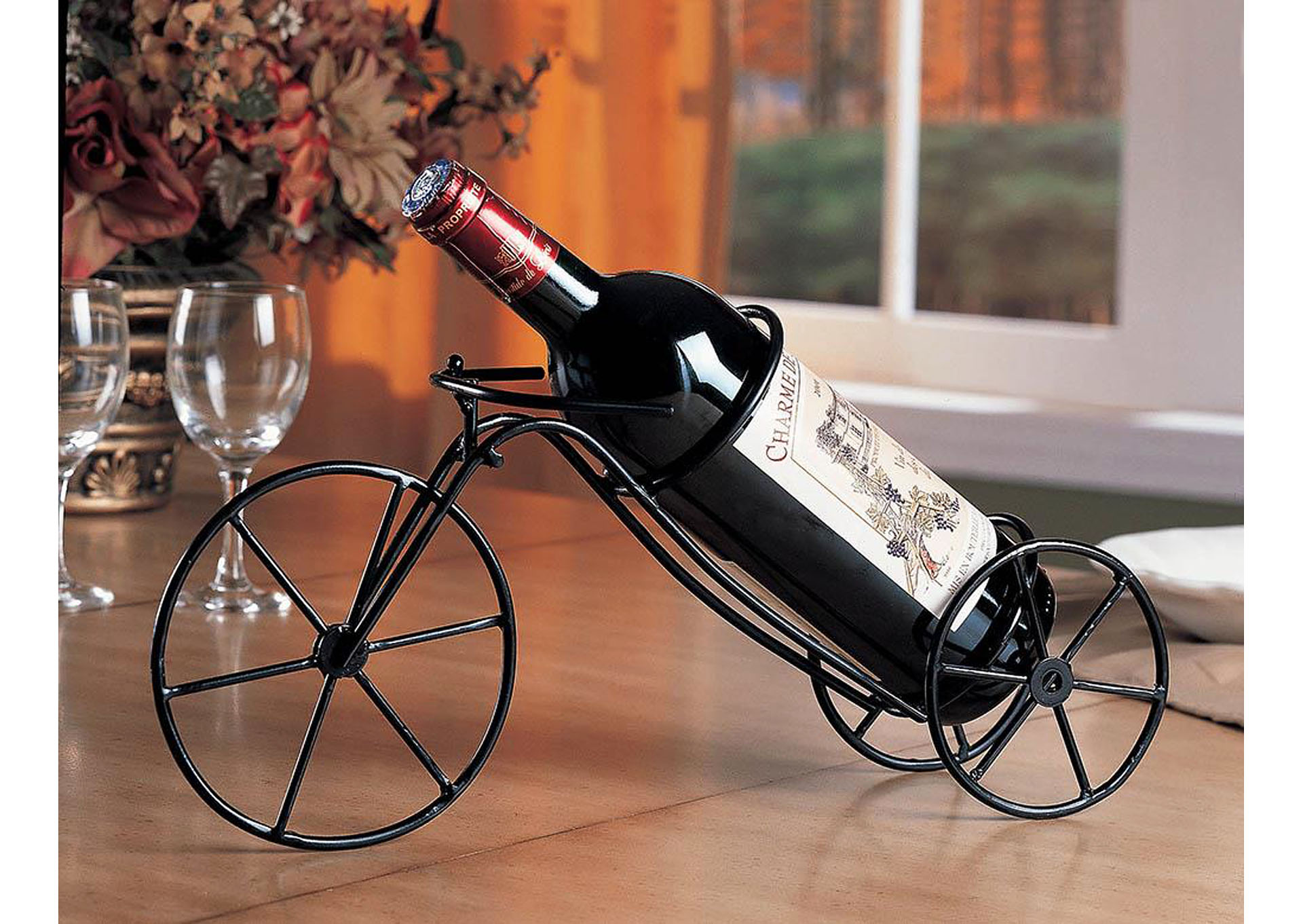 Black Wine Rack (Set of 6),Coaster Furniture