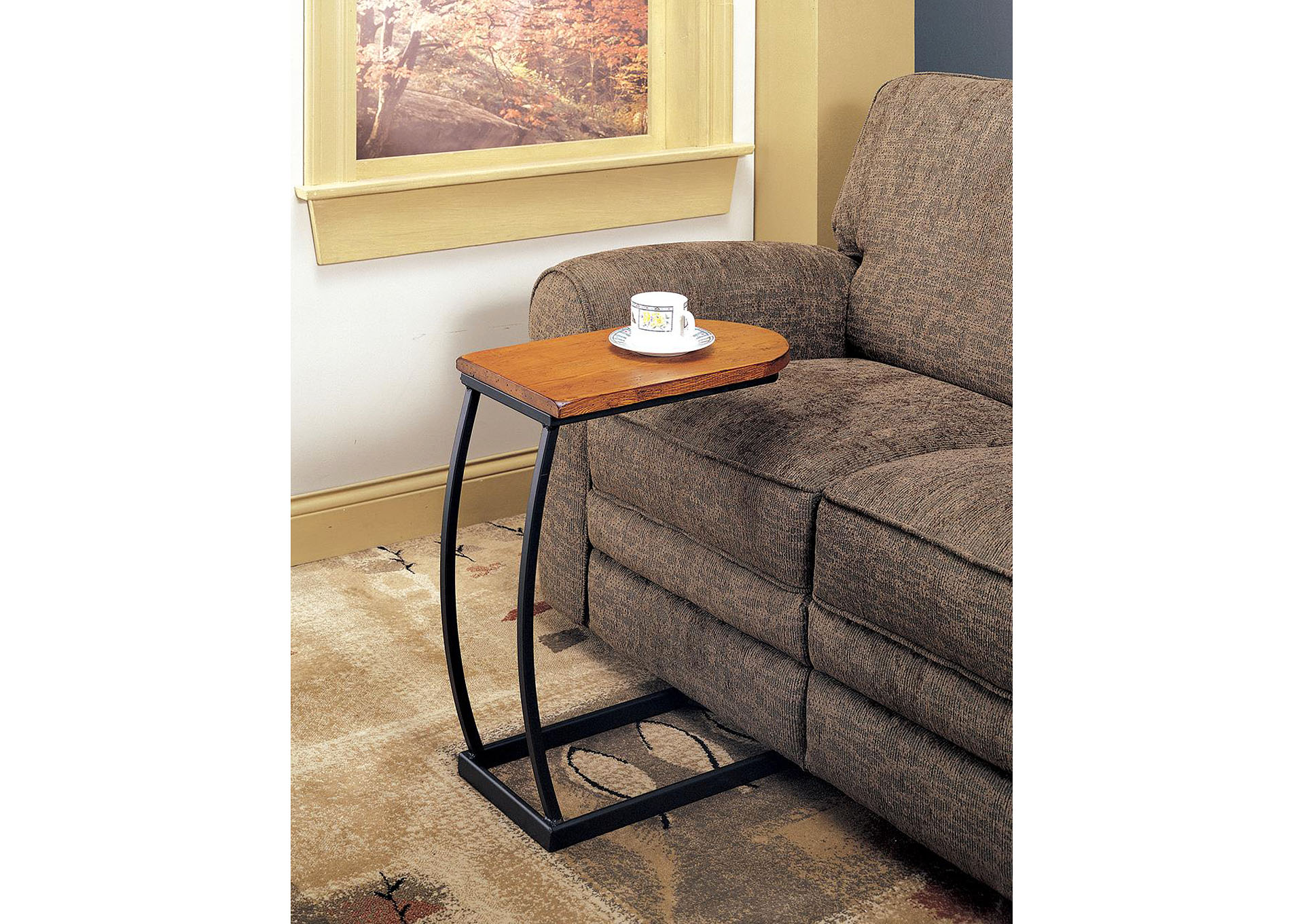 Oak Accent Table,Coaster Furniture