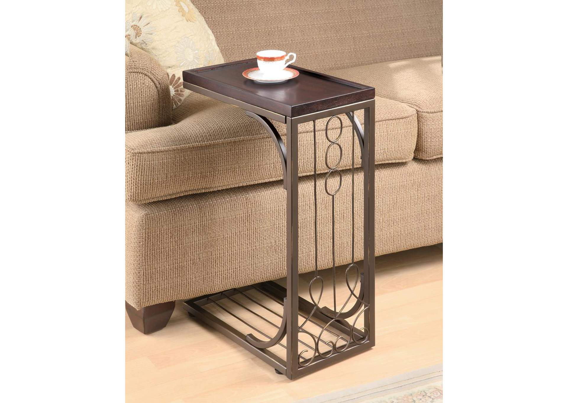 Brown Accent Table,Coaster Furniture
