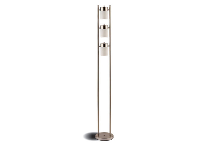 Silver Chrome Floor Lamp,Coaster Furniture