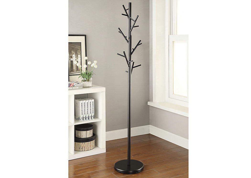 Black Coat Rack,Coaster Furniture