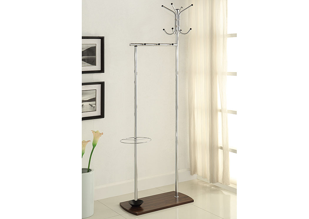 Chrome Coat Rack,Coaster Furniture